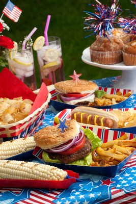 Summer Picnic Food