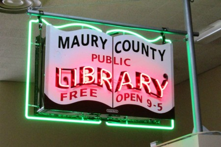 Maury County Public Library Author Event