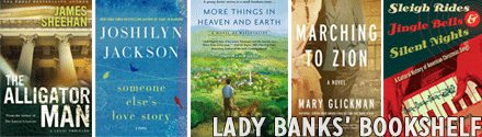 "More Things In Heaven And Earth Featured On ""Lady Banks Bookshelf"""